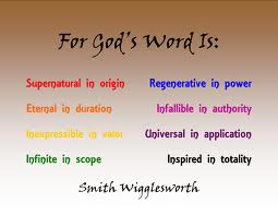 God's word is
